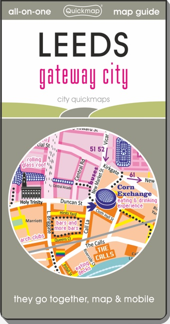 Leeds gateway city Quickmap cover ISBN 9780993359859