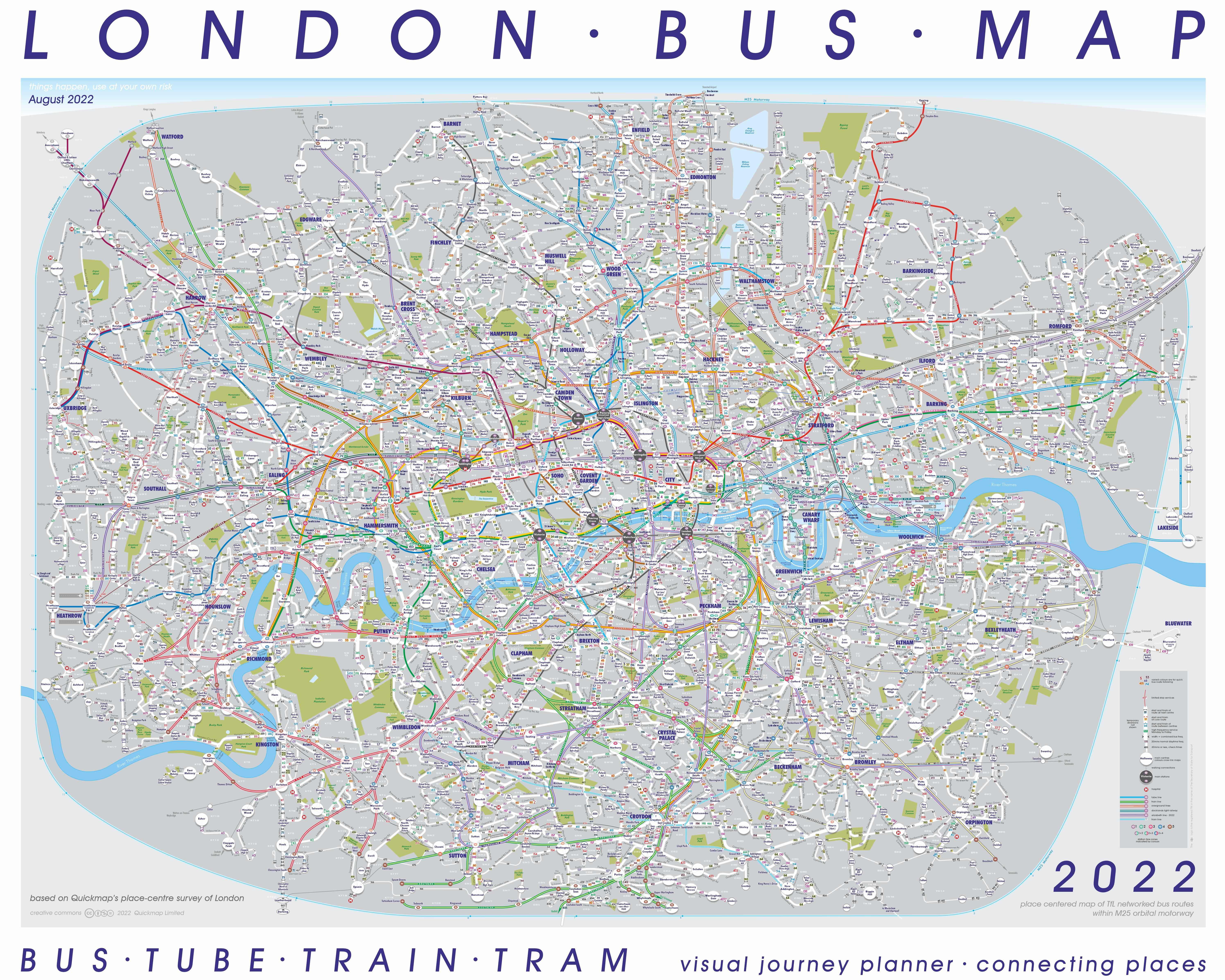 special all transport London diagram